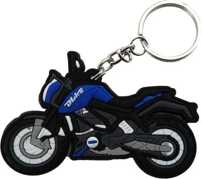 GCT KTM Duke Bike Logo Blue Black Synthetic Rubber Design-2 Key Chain  available at flipkart for Rs.161