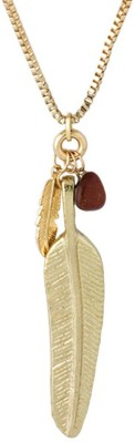 Voylla Artificial Classic Plain Yellow Gold Plated Alloy Necklace at flipkart