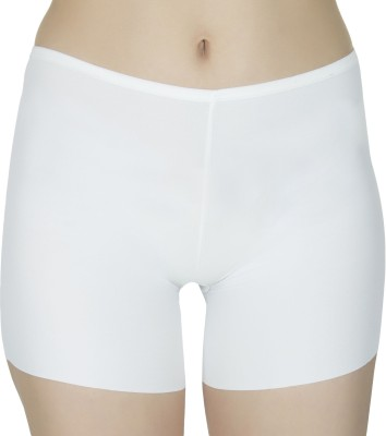 Figure N Fit Women Boy Short White Panty(Pack of 1) at flipkart