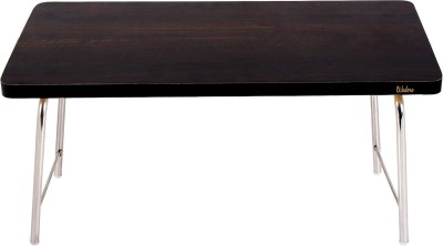 Wudore Solid Wood Portable Laptop Table(Finish Color - Black)