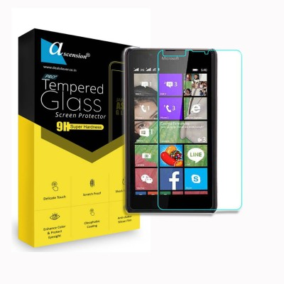 Ascension Tempered Glass Guard for Microsoft Lumia N540 dual, Nokia N540 dual(Pack of 2)