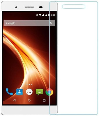 Admentine Tempered Glass Guard for Lava X10(Pack of 1)