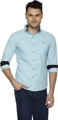 Club Martin Men's Self Design Casual Spread Shirt