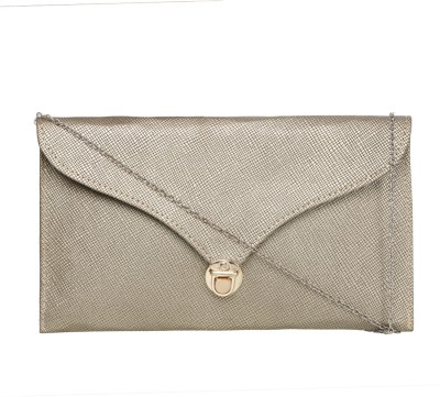 Indian Fashion Women Silver PU Sling Bag  available at flipkart for Rs.299