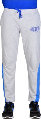 Greenhouse Solid Men Grey Track Pants