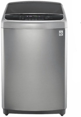 LG 9 kg Fully Automatic Top Load Washing Machine Silver, Black(T1064HFES6)
