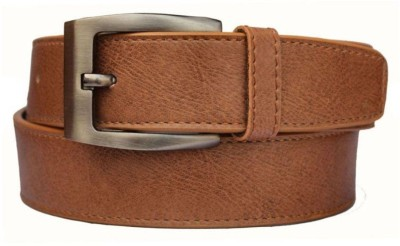 Cyclone Men Casual Tan Artificial Leather belt  available at flipkart for Rs.95