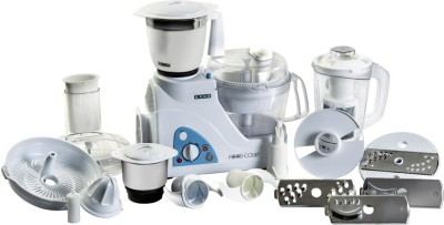 Philips HL1661 700 W Food Processor(White, Black)