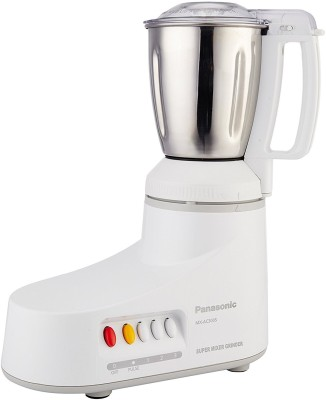 Panasonic MXAC MX-AC300S-H 550-Watt 3-Jar Super Mixer Grinder (Grey) 550 W Mixer Grinder(Grey, 3 Jars)