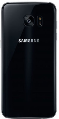 RJR Samsung Galaxy S7 Edge Back Panel Black