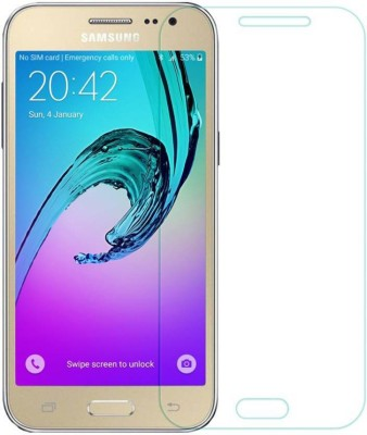 Galaxy Plus Tempered Glass Guard for Samsung Galaxy j2(Pack of 1)