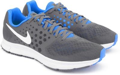 Nike ZOOM SPAN Running Shoes For Men(Grey) 1
