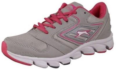 Slazenger Pureflow Running Shoes For Women(Grey, Pink)