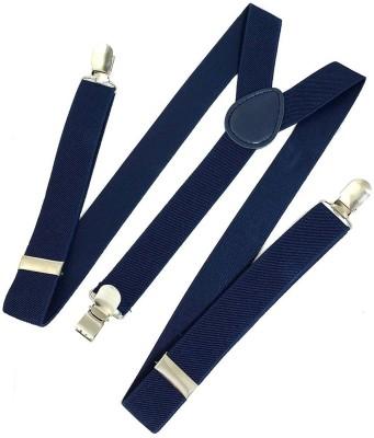 Kidofash Y- Back Suspenders for Men(Blue)