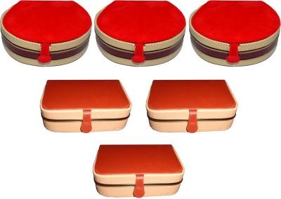 Aadhya Combo of ring & bangle box pack of 6 Vanity Box(Multicolor)