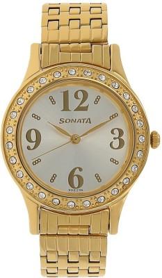 Sonata 8123YM01  Analog Watch For Women