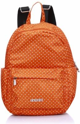 Caprese Marilyn Backpack Medium Orange 5 L Backpack(Orange)