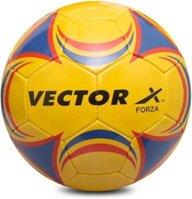 VECTOR X FORZA YLW RED 5 Football   Size: 5 Pack of 1, Multicolor VECTOR X Footballs
