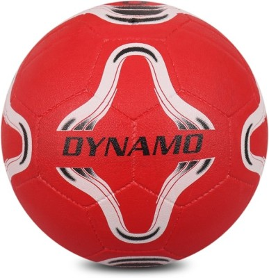 VECTOR X DYNAMO RED 5 Football   Size: 5 Pack of 1, Red VECTOR X Footballs