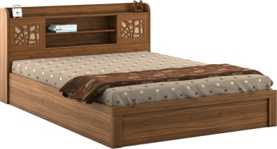 Decor Modular SPARROW Engineered Wood Queen Bed(Finish Color -  Black)