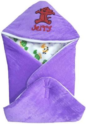 Brandonn HOODED FOAM FILLED WELCROW STICHED SAFETY BAG Sleeping Bag(Purple)
