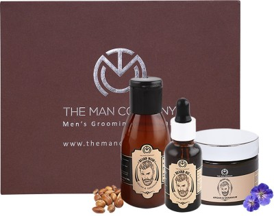 Beardo The Black Velvette Beard Oil (30ml) & Wash Combo (100ml)(Set of 2)
