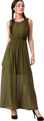 Dressberry Women Shirt Green Dress