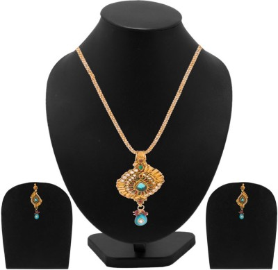 Voylla Alloy Jewel Set(Gold) at flipkart