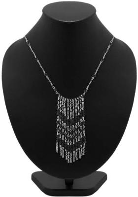 Voylla Artificial Classic Embellished Crystal Metal Necklace at flipkart