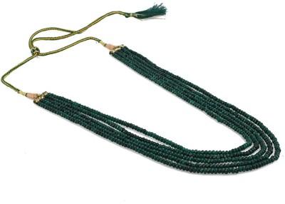 Aradhya Onyx Crystal Necklace at flipkart