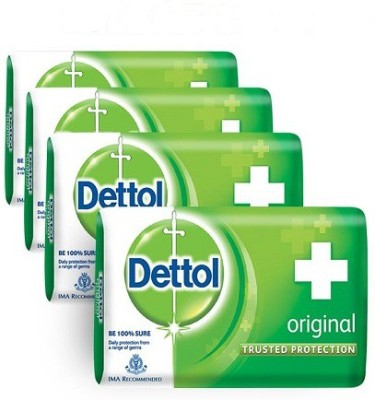Dettol Original Soap(300 g, Pack of 4)