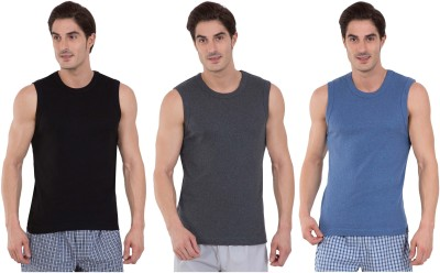 Jockey men's cotton vest (pack of 3)