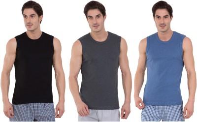 Jockey men's cotton vest (pack of 3)