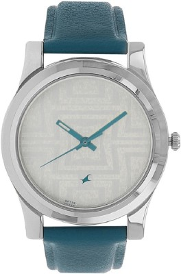Image of Fastrack Silver Dial Watch - For Girls