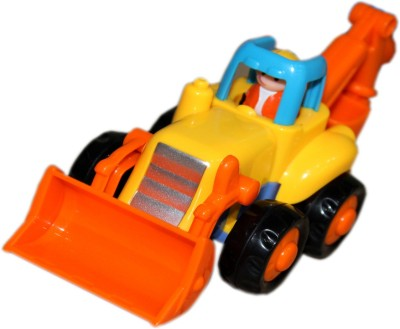 Toys Factory Cary JCB Rattle(Multicolor)
