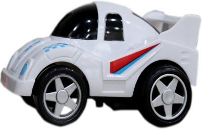 Toys Factory Racing Car Rattle(White)