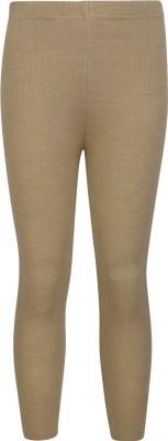 Cayman Legging For Girls(Beige Pack of 1)