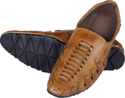 Emosis Loafers, Casuals, Party Wear, Corporate Casuals(Tan)