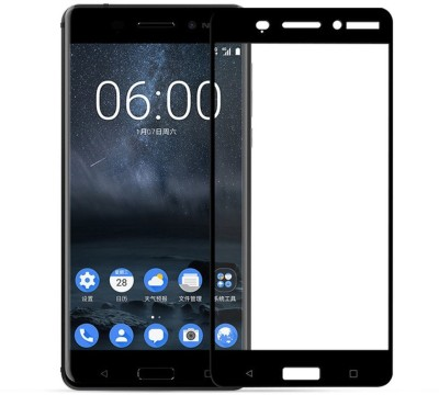 Chevron Tempered Glass Guard for Nokia 6(Pack of 1)