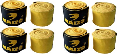 Maizo MHW 108 Yellow 4 Set Yellow Boxing Hand Wrap(Yellow, 120 inch)