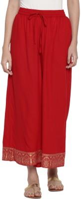 Rangmanch by Pantaloons Regular Fit Women White Trousers