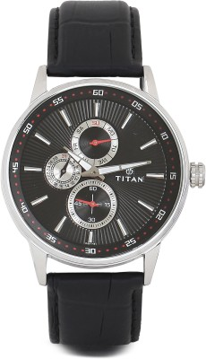 Titan 9441SL02 Smart Steel Analog Watch   For Men Titan Wrist Watches