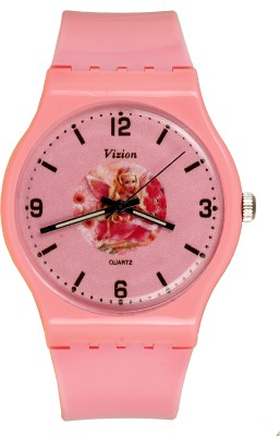 Vizion 8822-5-4  Analog Watch For Girls