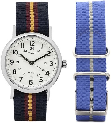 Timex T2P234NS Weekender Watch  - For Men & Women  available at flipkart for Rs.1500