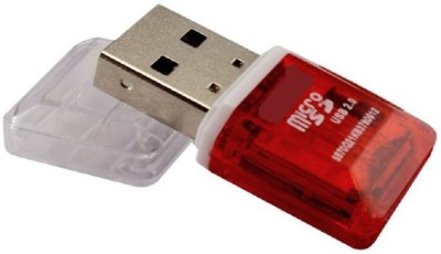 TECHNOCHITRA USB TF Card Reader(Red)