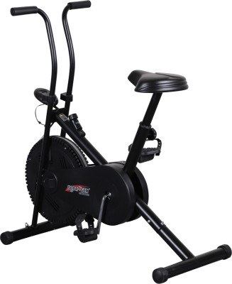 Body Gym Air Bike Bga 1001 Indoor Cycles Exercise Bike(Black)  available at flipkart for Rs.7500