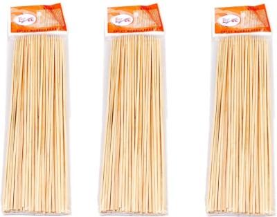 Ezee Disposable Bamboo Roast Fork Set Pack of 3 Ezee Forks