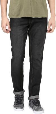 3 Concept Slim Men Black Jeans