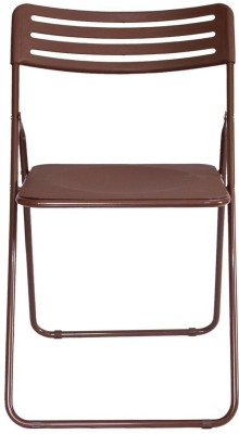 Onlineshoppee Solid Wood Outdoor Chair(Finish Color - Walnut)