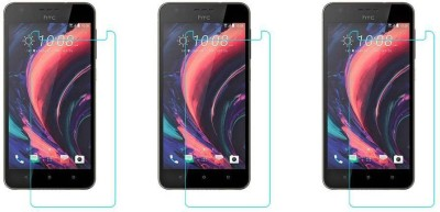 ACM Tempered Glass Guard for Htc Desire 10 Lifestyle Dual Sim(Pack of 3)